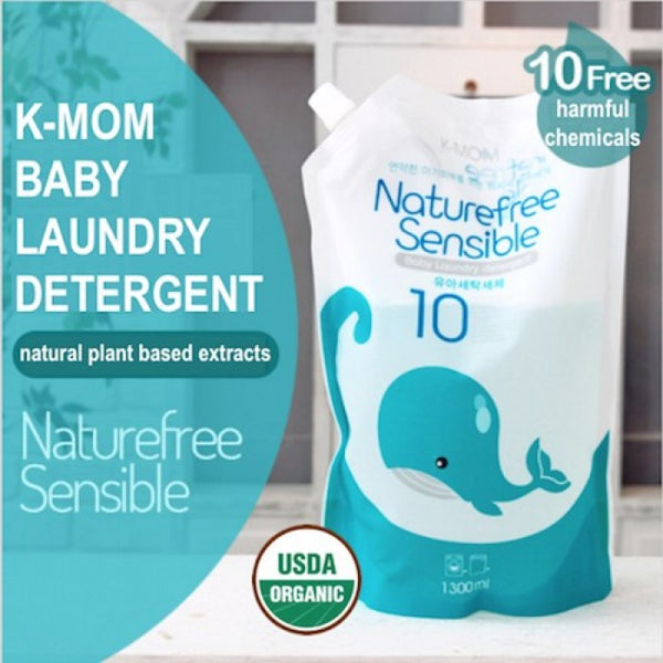K-Mom Natural Sensible Baby Laundry Detergent (1300ml)