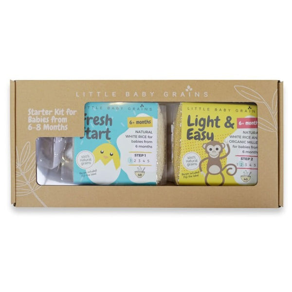 Little Baby Grains Starter Kit for Babies 6 to 8 Months