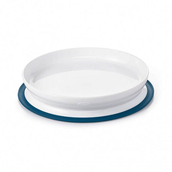 Oxo Tot Stick & Stay Suction Plate Navy