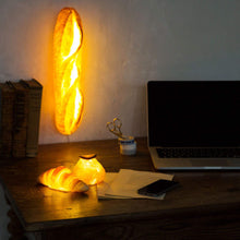 image gallery viewer to read, Batard Bread Lamp (LED Light with AC Power Cord)