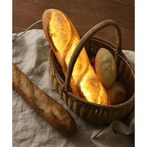 Batard Bread Lamp (LED Light with AC Power Cord)
