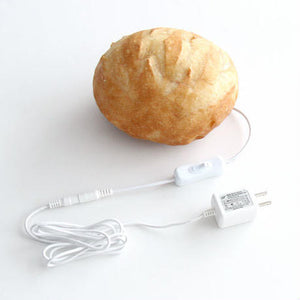 Boule Bread Lamp (LED Light with AC Power Cord)