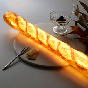 Baguette Bread Lamp (with AC Power Cord)
