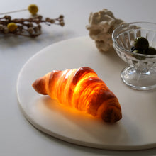 image gallery viewer to read, Croissant Bread Lamp (Battery Powered LED Light)
