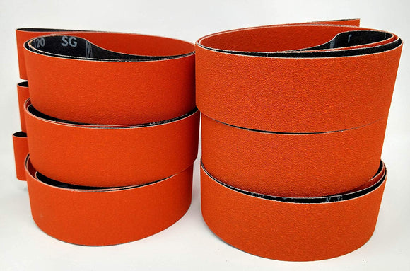 2X72 Abrasive Sanding Belts - Premium Quality 2X72 belts for Grinding, Sharpening, Polishing & More!