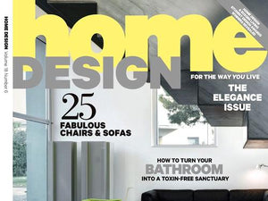 Home Design Magazine Therapy Shower feature