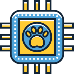Microchipping Icon made by www.flaticon.com/authors/flat-icons from www.flaticon.com