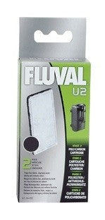 FLUVAL U2 POLY CARBON CARTRIDGE PKT 2