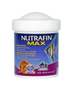 NUTRAFIN MAX TROPICAL FISH FLAKES 38G