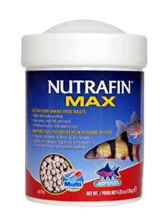 NUTRAFIN MAX BOTTOM SINKING FOOD TABLETS 60G