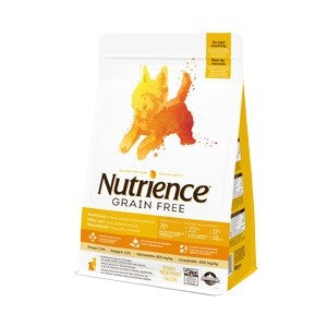 NUTRIENCE DOG 2.5KG GRAIN FREE TURKEY, CHICKEN & HERRING SMALL BREED