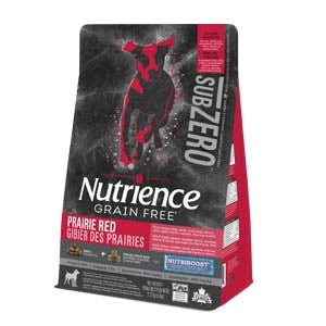 NUTRIENCE DOG 2.27KG SUB ZERO PRAIRIE RED