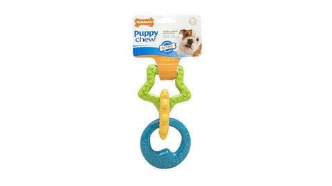 NYLABONE PUPPY TEETHING RINGS ^N600
