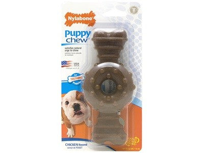 NYLABONE PUPPY RING BONE - WOLF ^N903P