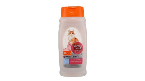 HARTZ CAT SHAMPOO - HAIRBALL CONTROL ^444ML