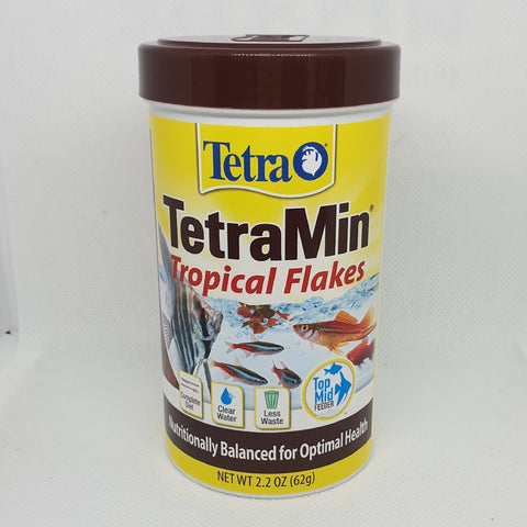 TETRAMIN TROPICAL FLAKES 62G