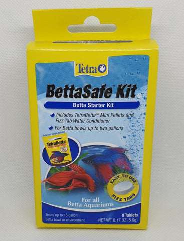 Tetra Bettasafe Starter Kit 8 Tabs