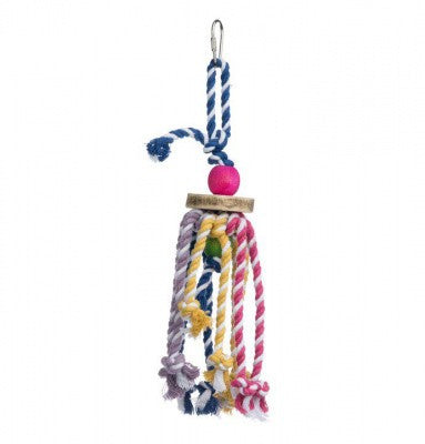 PREVUE BIRD TOY TROPICAL TEASERS COURT JESTER