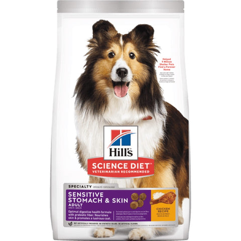 HILL'S SCIENCE DIET CANINE ADULT SENSITIVE STOMACH & SKIN 1.81KG