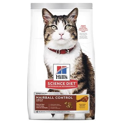 HILL'S SCIENCE DIET FELINE ADULT HAIRBALL CONTROL 4KG