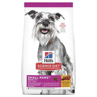 HILL'S SCIENCE DIET CANINE ADULT 7+ SMALL PAWS - 1.5KG