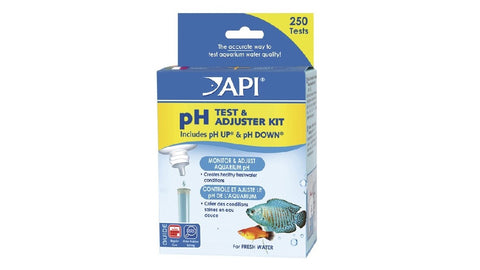 API PH TEST & ADJUSTER KIT - FRESHWATER ^29A