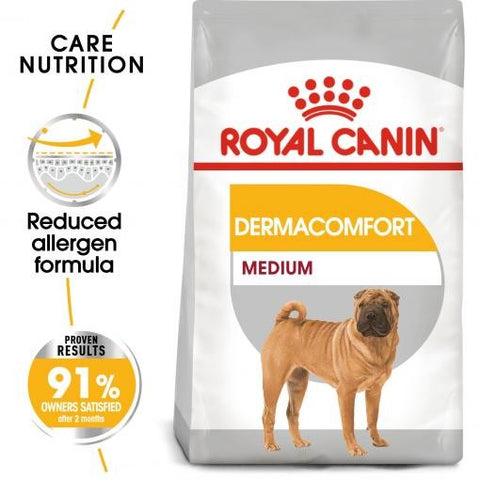 ROYAL CANIN CANINE CARE DRY MEDIUM DERMACOMFORT 3KG