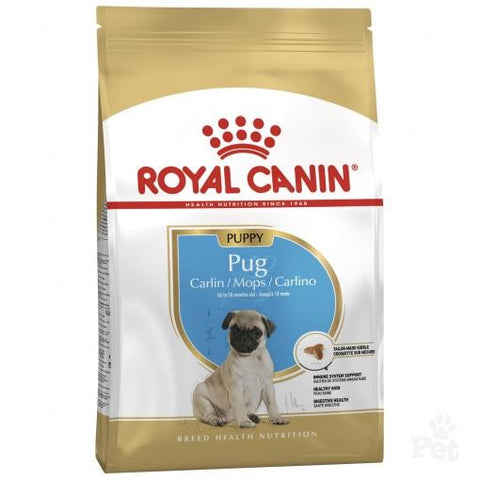 ROYAL CANIN CANINE DRY PUG PUPPY (NEW) 1.5KG