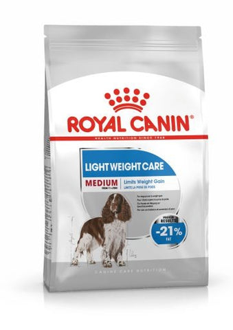 ROYAL CANIN CANINE CARE DRY MEDIUM LIGHT WEIGHT CARE 3KG