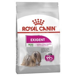 ROYAL CANIN CANINE CARE DRY MINI EXIGENT NEW BAG SIZE 3KG