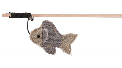 BE NORDIC CATNIP PLAYING ROD WITH FISH - 40cm ^45513