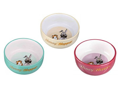 HONEY & HOPPER CERAMIC BOWL 11CM ^60808