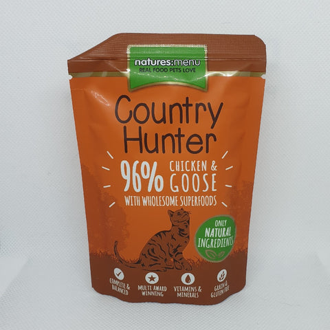 COUNTRY HUNTER CHICKEN & GOOSE 85G