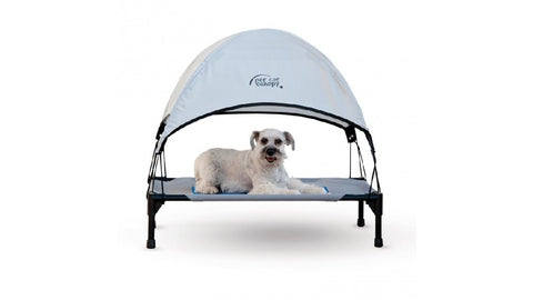 K&H PET COT CANOPY MEDIUM GREY