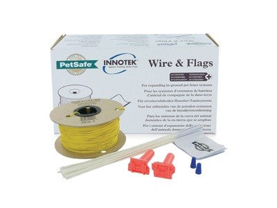 PET SAFE RADIO FENCE - WIRE & FLAGS KIT