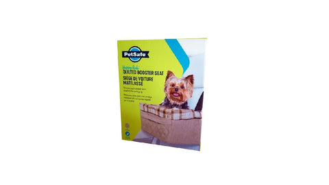 PETSAFE HAPPY RIDE BOOSTER SEAT QUILTED 8KG ^16901