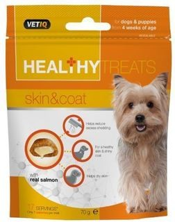 VETIQ HEALTHY TREATS SKIN & COAT 70G
