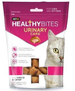 VETIQ HEALTHY BITES URINARY CARE 65G