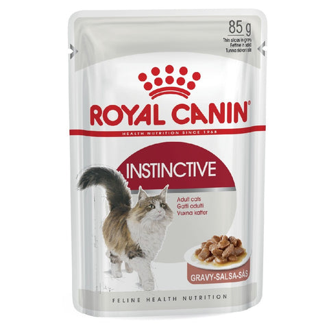 ROYAL CANIN FELINE WET GRAVY INSTINCTIVE ADULT 85G