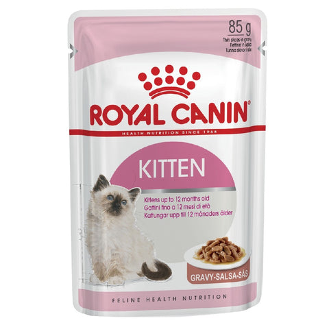 ROYAL CANIN FELINE WET - GRAVY KITTEN INSTINCTIVE IN GRAVY 85G