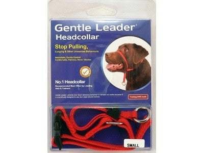 GENTLE LEADER - HEAD COLLAR - RED ^SML