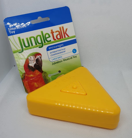 JUNGLE TALK JUKEBOX MUSICAL TOY LARGE