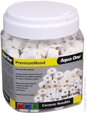 AQUA ONE ADVANCENOOD PREMIUM CERAMIC NOODLES 640G