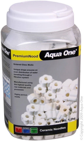 AQUA ONE ADVANCENOOD PREMIUM CERAMIC NOODLES 1.2KG