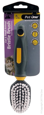 PET ONE GROOMING - CAT & SMALL ANIMAL SOFT BRISTLE BRUSH