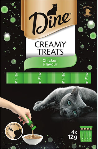 DINE CREAMY TREATS CHICKEN 12G