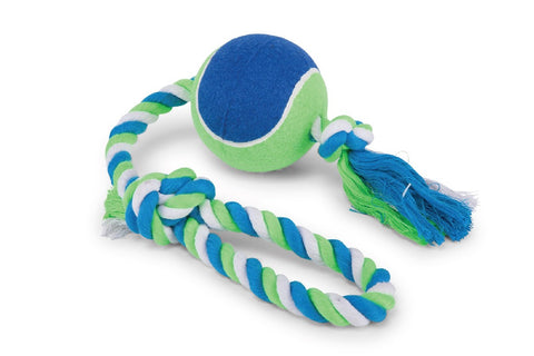 TWISTED ROPE SLING TENNIS BALL LARGE