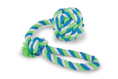 TWISTED ROPE SLING KNOT BALL LARGE