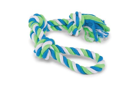TWISTED ROPE 3 KNOT TUG TOY XL