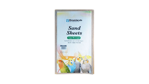 CAGE SAND SHEETS 41 x 24CM 7 PACK